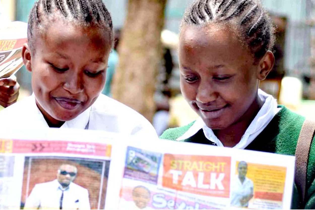 Straight Talk SRHR magazines.