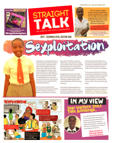 Straight Talk – Sep 2019 Issue
