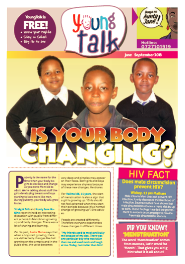 Young Talk August 2018 Issue