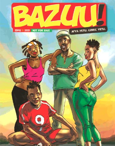 Bazuu Comic Edition 1