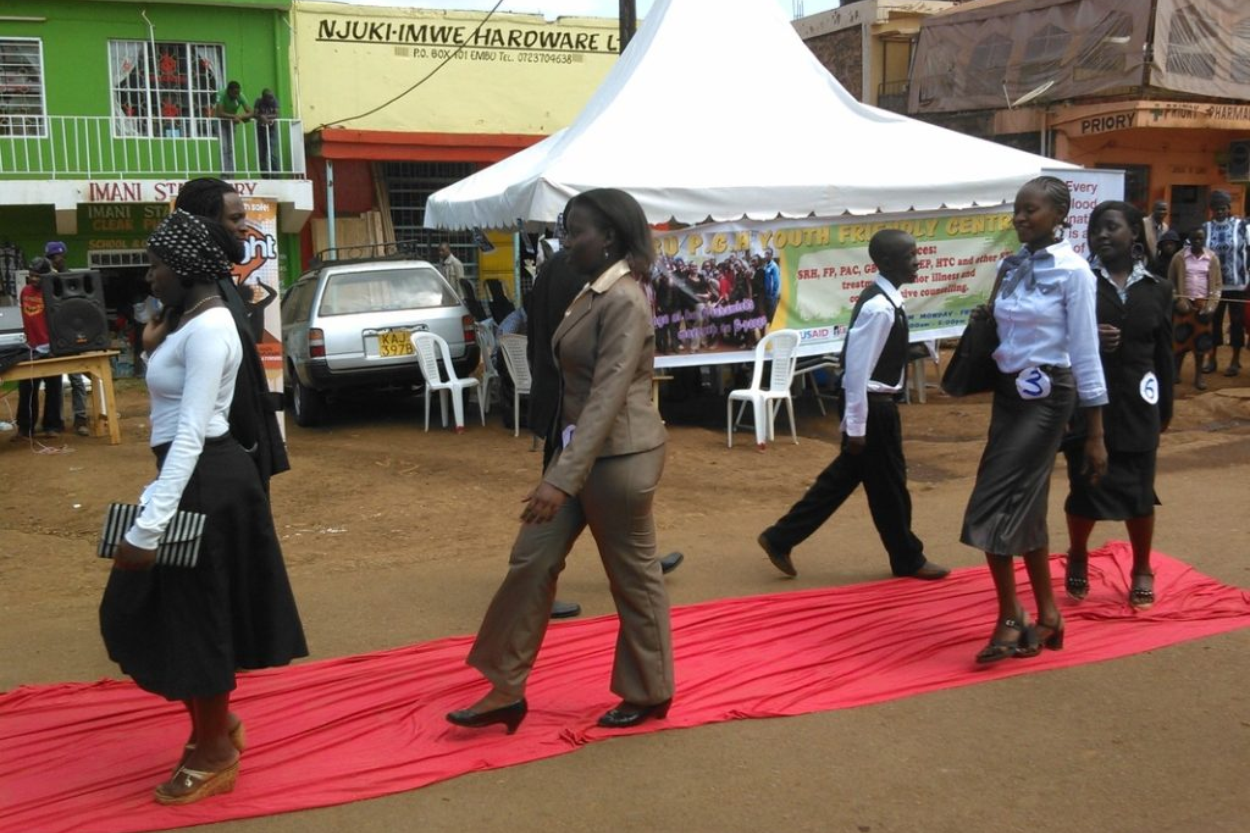 Catwalk4life – Fighting stigma among adolescents and young people living with HIV in Kenya