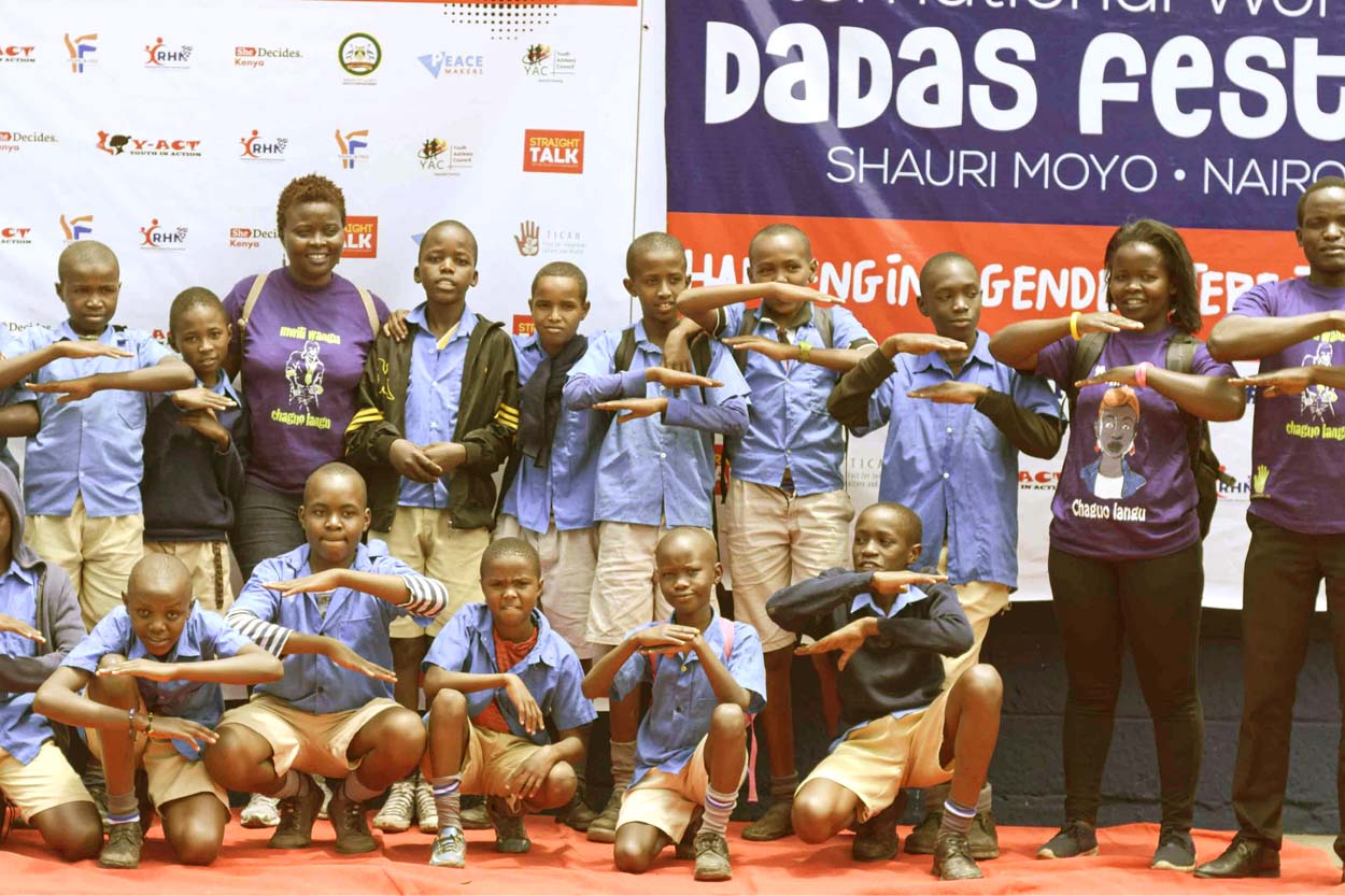 Pomp and Colour at our Inaugural Girls Festival, 'Dada Fest 2020'