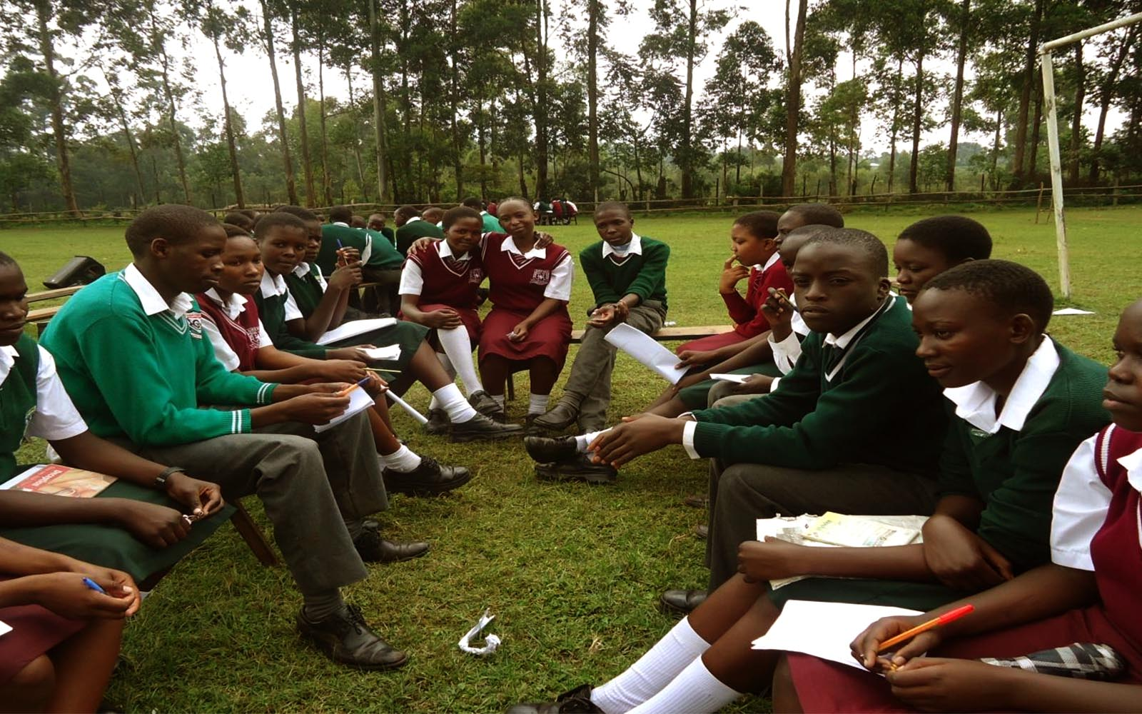 400 Straight Talk Club members meet At Sironga Girls High School for the Regional Symposia